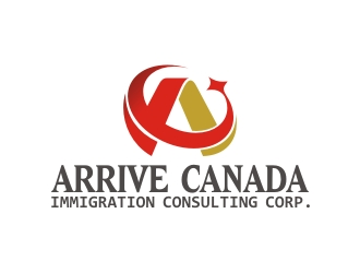 ARRIVE CANADA IMMIGRATION CONSULTING CORP.logo设计