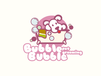 bubble bubble pet groomingLOGO设计