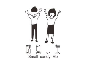 糖果小茉Small candy MoLOGO设计