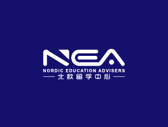 中文:NEA北欧留学中心  英文:Nordic Education Advisers LOGO设计