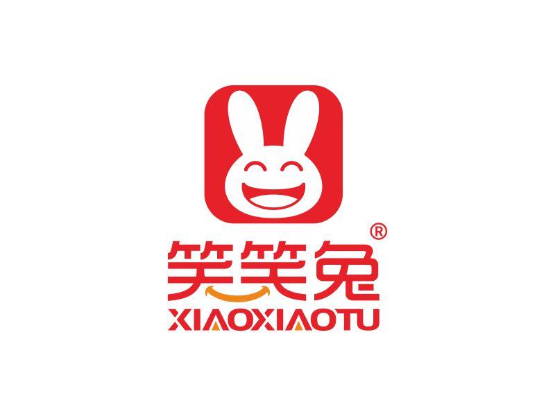 笑笑兔 Logo Design