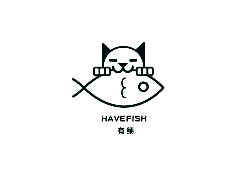 有鲠美食 Logo Design