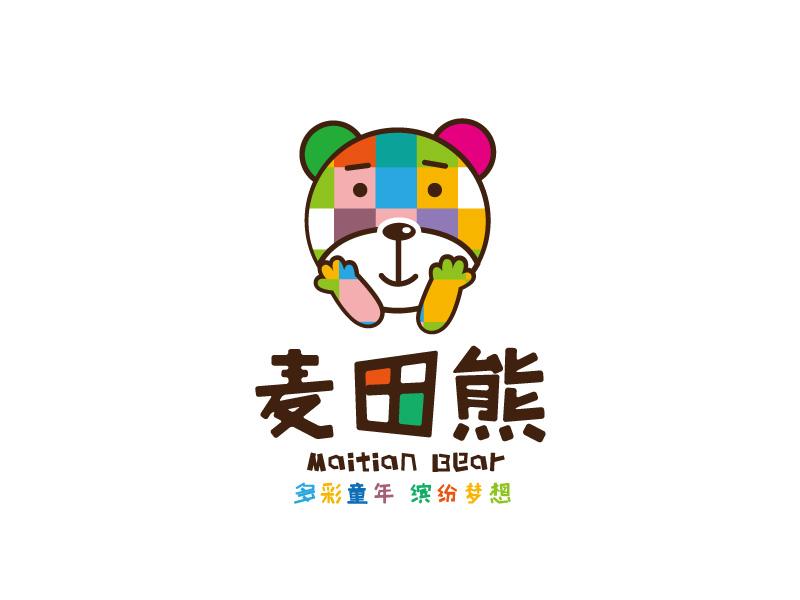 麦田熊 Logo Design